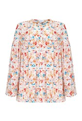 Ghost Cheryl Top Sera Print Multi Coloured