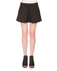 Balenciaga Wool Mini Skort Black Noir