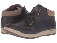 The North Face Ballard Evo Chukka Fg Demitasse Brown Shady Blue Men's Lace Up Boots