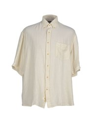 Paul And Shark Shirts Shirts Men Beige
