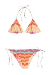 Missoni Mare Reversible Knit Triangle Bikini