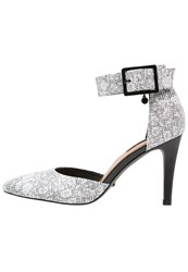 Belmondo High Heels Bianco Black