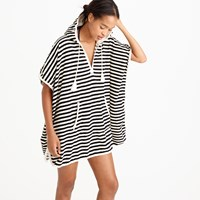 J.Crew Hooded Terry Poncho Dress