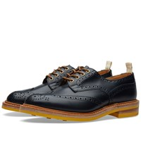 Trickers End. X Tricker's Club Sole Bourton Brogue Blue