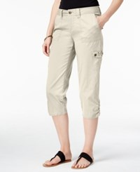 Styleandco. Style Co. Petite Embellished Capri Cargo Pants Only At Macy's Stonewall