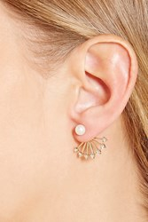 Forever 21 Faux Pearl Ear Jackets