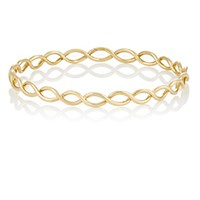 Irene Neuwirth Women's Rose Gold Braided Bangle Gold No Color Gold No Color