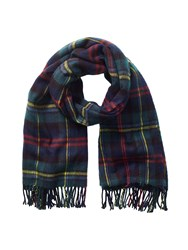 Phase Eight Emma Check Scarf Green