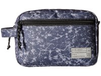 Hex Dopp Kits Aspect Acid Wash Bags Blue