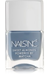 Nails Inc Sweet Almonds Powered By Matcha Nail Polish Gloucester Crescent Sky Blue