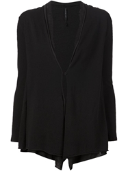 Transit Loose Fit Cardigan Black