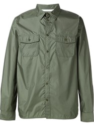 Norse Projects Chest Pockets Shirt Green