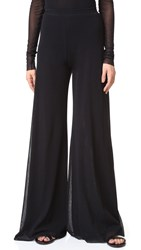 Fuzzi Wide Leg Pants Black