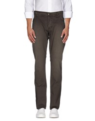Jeckerson Trousers Casual Trousers Men Dark Brown