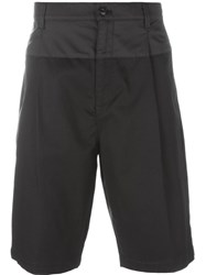 Helmut Lang Pleated Shorts Black