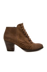 Free People Loveland Ankle Bootie Brown