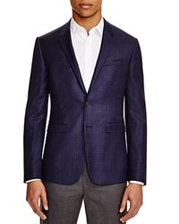 Paul Smith London Double Windowpane Slim Fit Sport Coat