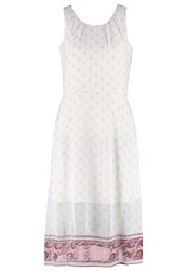 Tom Tailor Summer Dress Whisper White