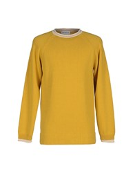 Umit Benan Knitwear Jumpers Men Yellow