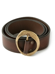 Diesel 'Bena' Belt Brown