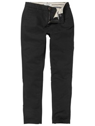 Fat Face Modern Ankle Grazer Chinos Black