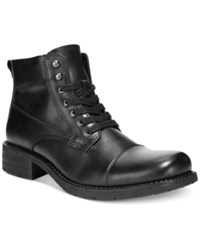 Alfani Dean Utility Boots Men's Shoes Black