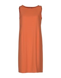Gio' Moretti Short Dresses Orange