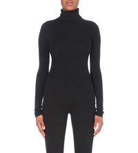 J Brand Centro Stretch Cotton Jumper Black