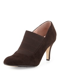 Taryn Rose Tacoma Suede Pump Chocolate