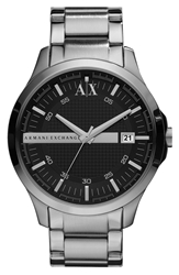 Armani Exchange Bracelet Watch 46Mm Black