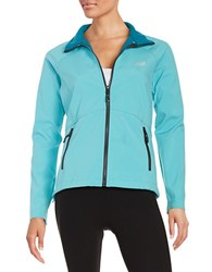 New Balance Soft Shell Jacket Bayside Blue