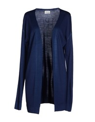 People Knitwear Cardigans Women Dark Blue