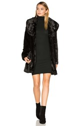 Unreal Fur Elixir Faux Coat Black