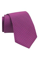 Gitman Brothers Vintage Men's Geometric Silk Tie Magenta