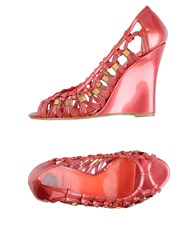 Viktor And Rolf Footwear Courts Women Coral
