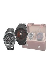 Akribos Xxiv Men's Watch Gift Set Multi