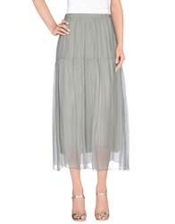 Bramante Skirts 3 4 Length Skirts Women Grey