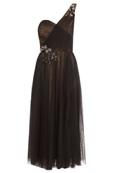 Notte By Marchesa One Shoulder Tulle Dress