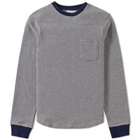 Oliver Spencer Rica Crew Sweat Blue