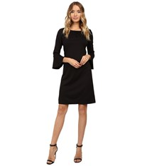 Christin Michaels Dresden Bell Sleeve Dress Black Women's Dress