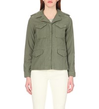 Levi's Surplus Cotton Jacket Bronze Green