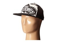 Vans Beach Girl Trucker Hat White Sand Black Caps Gray