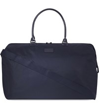 Lipault Nylon Large Nylon Weekend Bag Navy