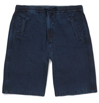 Folk Denim Shorts Blue