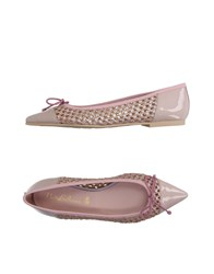 Pretty Ballerinas Footwear Ballet Flats Women Light Pink