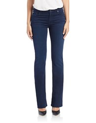 7 For All Mankind Bootcut Jeans Slim Illusion Luxe Rich Blue