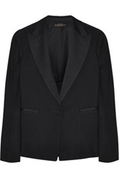 The Row Tulsha Wool Blazer Black