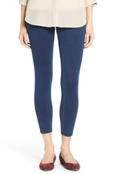 Women's Hue 'Super Smooth' Ankle Leggings Ink Wash