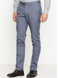 Reiss Westbury Slim Fit Chinos Grey
