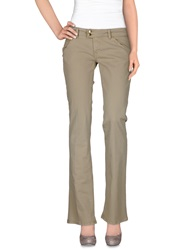 Met Denim Pants Beige